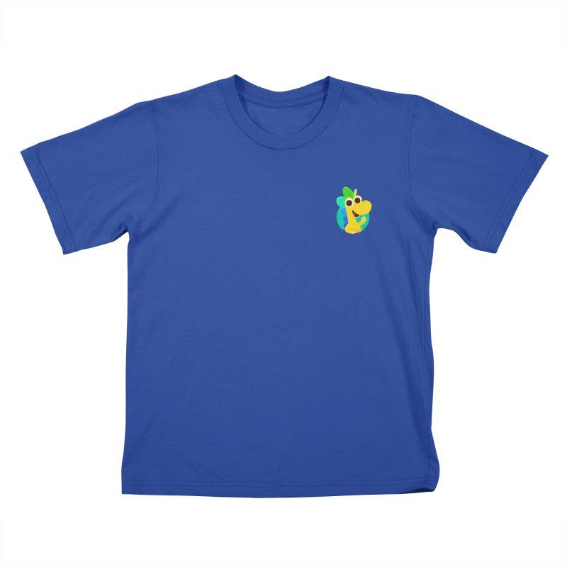 Color Dino - Pocket Kids T-Shirt by Hellosaurus Swag