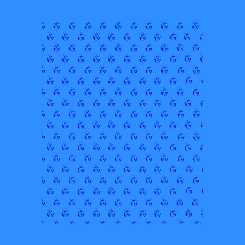 Blue Dino Pattern Men's Socks by Hellosaurus Swag