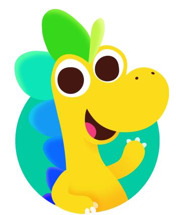 Hellosaurus Swag Logo