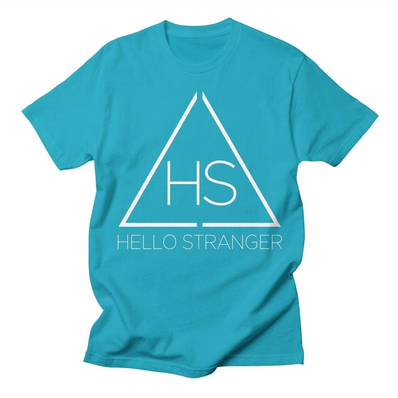 HS Triangle Women's Regular Unisex T-Shirt by Hello Stranger Merch
