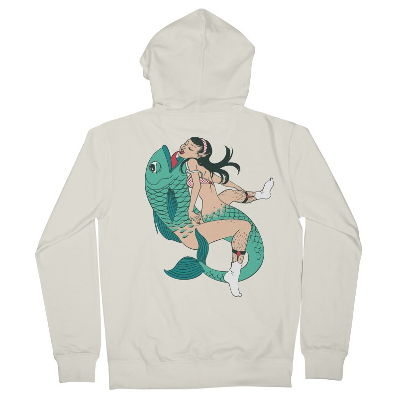 Fishy Love Women's Zip-Up Hoody by henani's Artist Shop