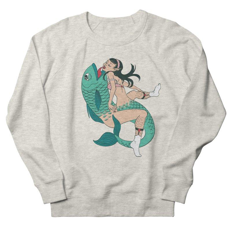 Fishy Love Women's Sweatshirt by henani's Artist Shop