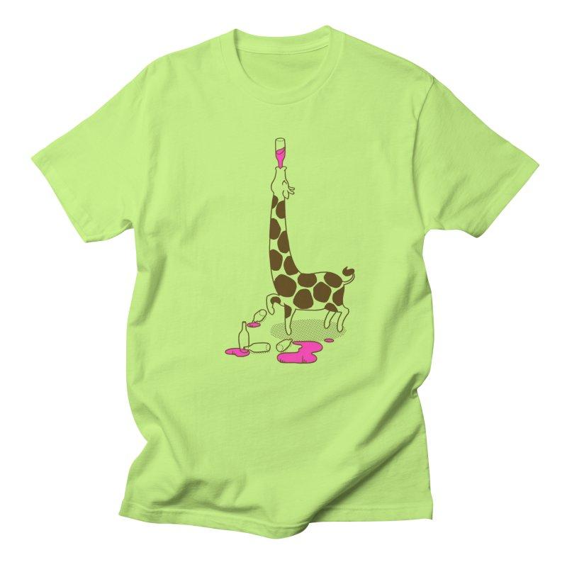 Strawberry Lemonade Men's Regular T-Shirt by henani's Artist Shop