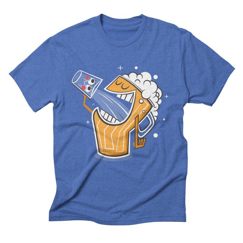 Drinking Buddies Men's T-Shirt by henrynsmith's Artist Shop
