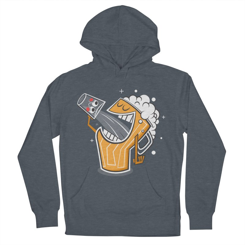 Drinking Buddies Women's French Terry Pullover Hoody by henrynsmith's Artist Shop