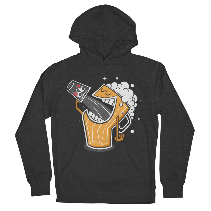 Drinking Buddies Men's French Terry Pullover Hoody by henrynsmith's Artist Shop