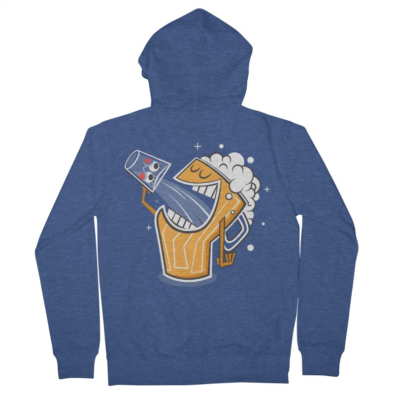 Drinking Buddies Women's Zip-Up Hoody by henrynsmith's Artist Shop