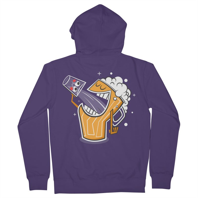 Drinking Buddies Women's Zip-Up Hoody by henrynsmith's Artist Shop