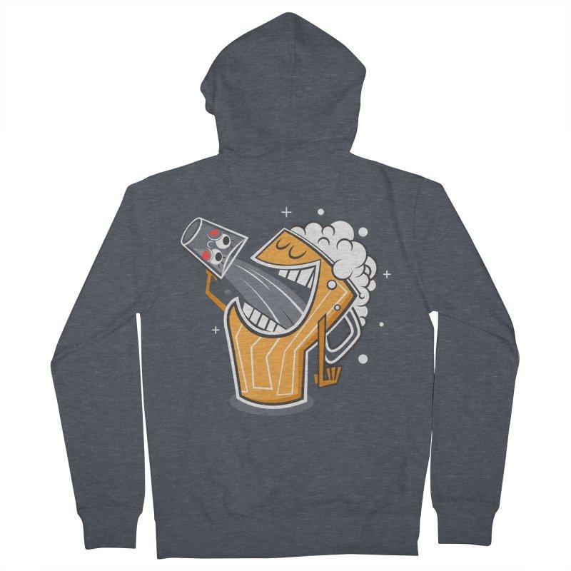 Drinking Buddies Men's Zip-Up Hoody by henrynsmith's Artist Shop