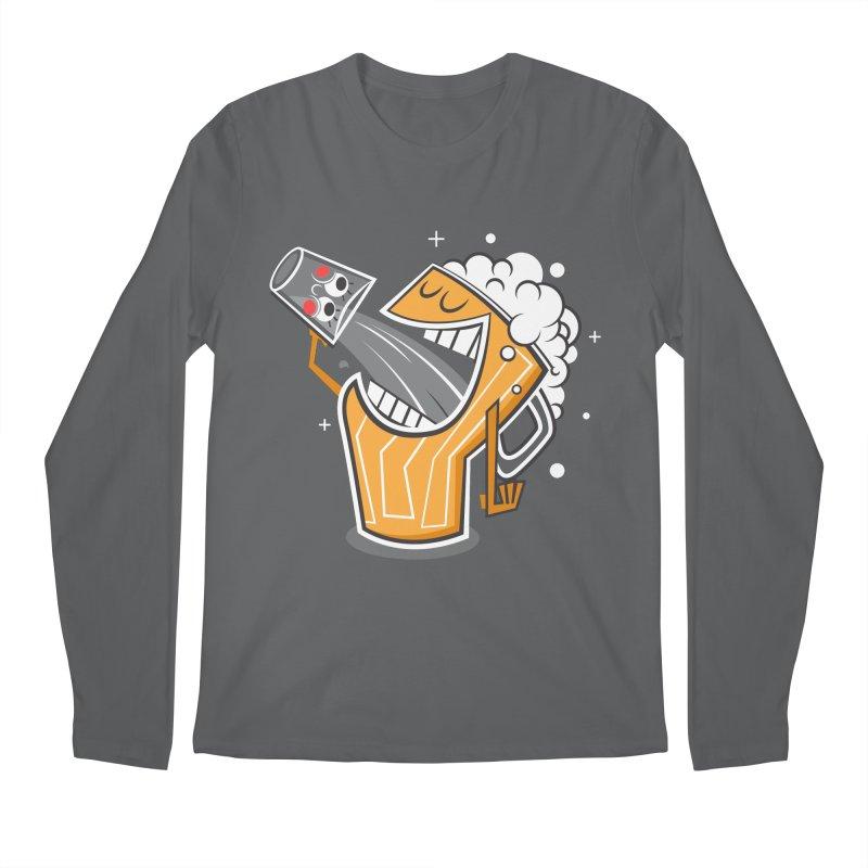 Drinking Buddies Men's Regular Longsleeve T-Shirt by henrynsmith's Artist Shop