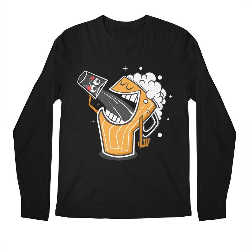 Drinking Buddies Men's Longsleeve T-Shirt by henrynsmith's Artist Shop