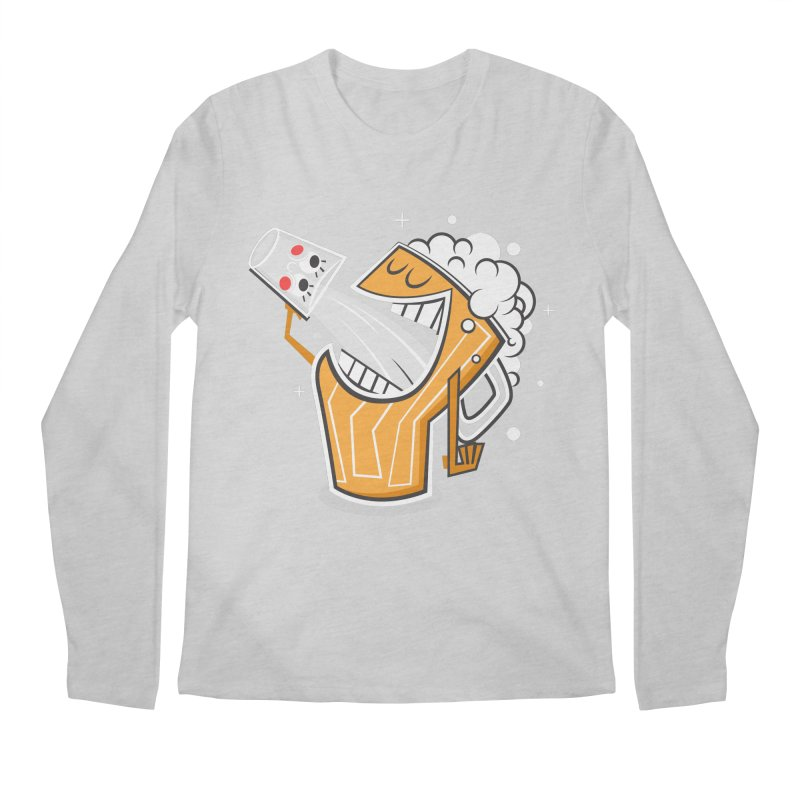 Drinking Buddies Men's Regular Longsleeve T-Shirt by henrynsmith's Artist Shop