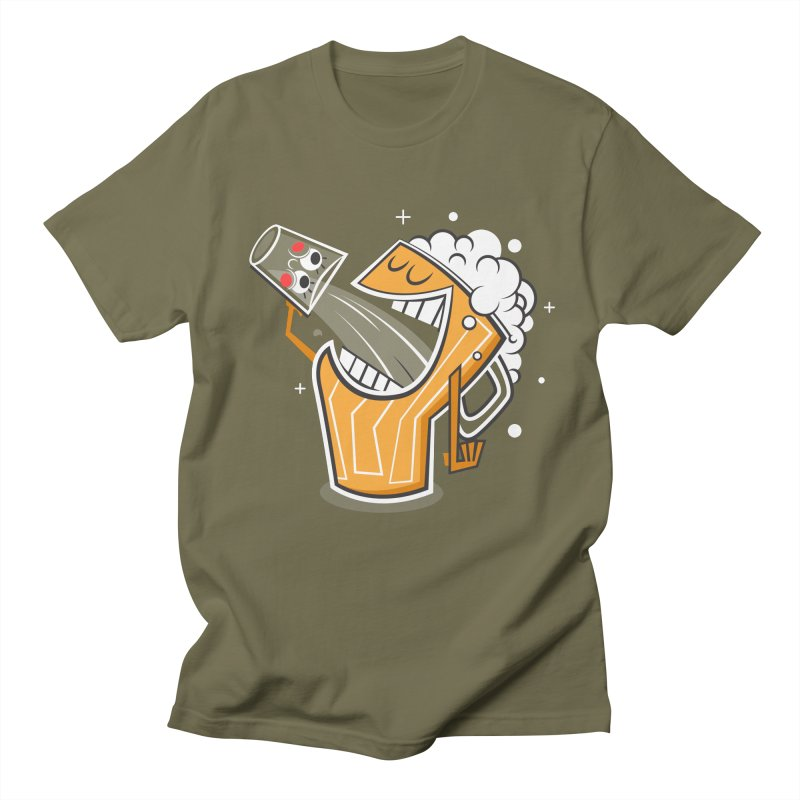 Drinking Buddies Men's Regular T-Shirt by henrynsmith's Artist Shop