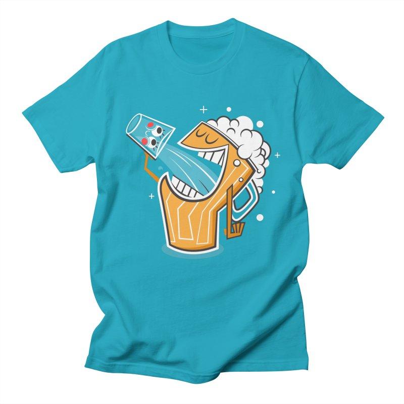Drinking Buddies Men's Regular T-Shirt by henrynsmith's Artist Shop