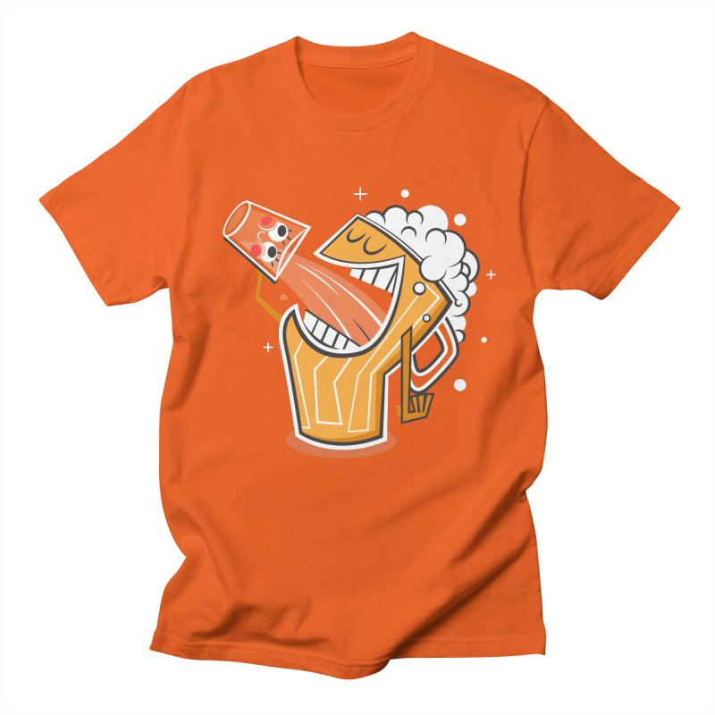 Drinking Buddies Men's T-shirt by henrynsmith's Artist Shop