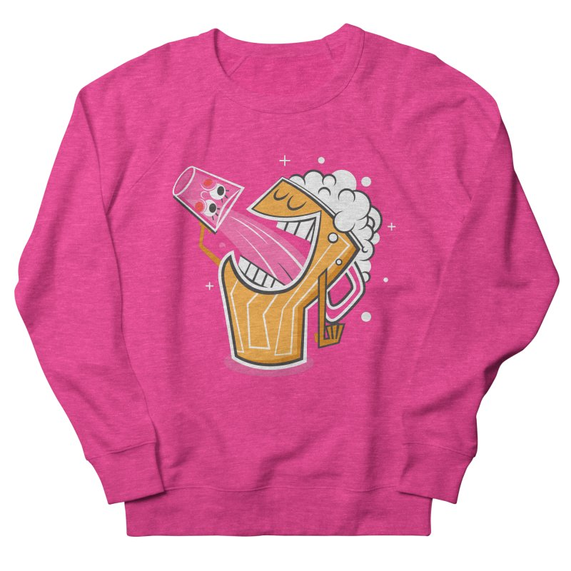 Drinking Buddies Women's French Terry Sweatshirt by henrynsmith's Artist Shop