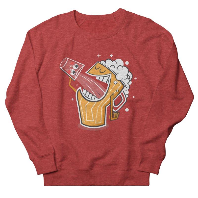 Drinking Buddies Men's French Terry Sweatshirt by henrynsmith's Artist Shop
