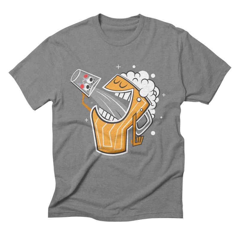 Drinking Buddies Men's Triblend T-Shirt by henrynsmith's Artist Shop