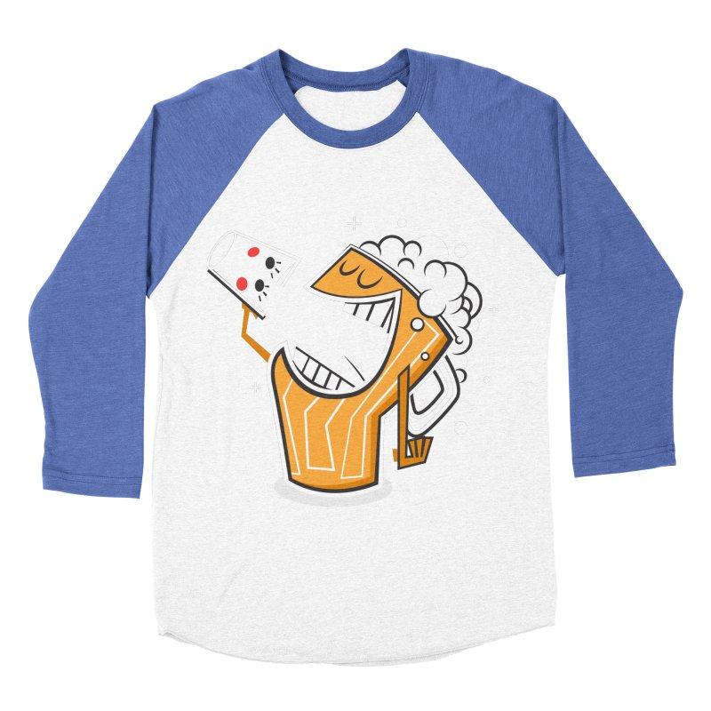 Drinking Buddies Women's Baseball Triblend T-Shirt by henrynsmith's Artist Shop