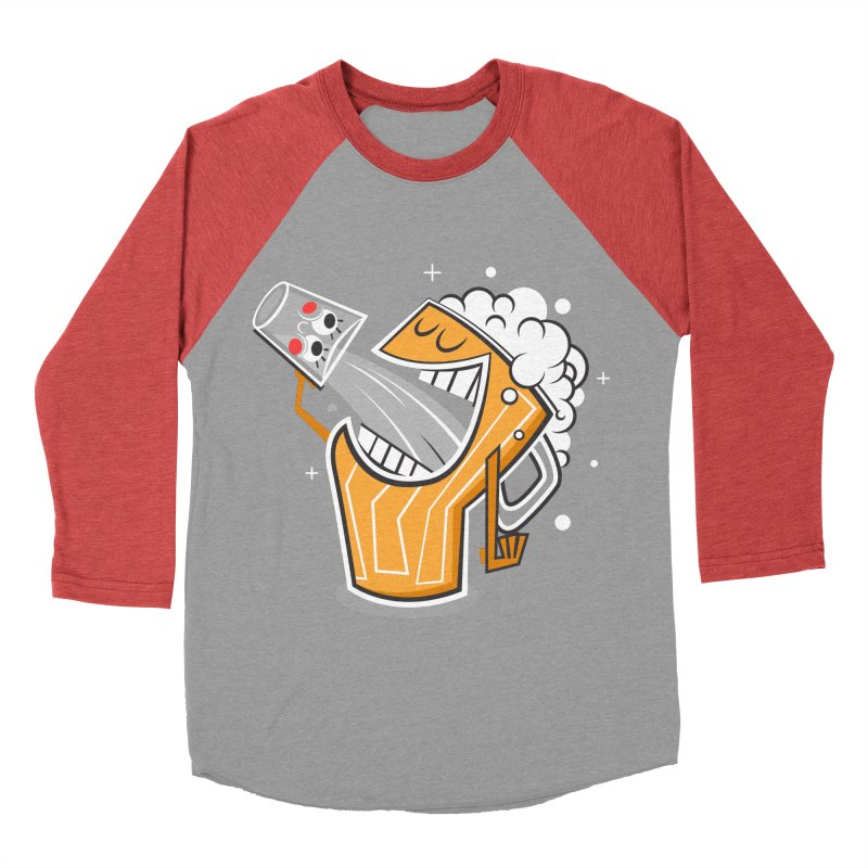 Drinking Buddies Women's Baseball Triblend Longsleeve T-Shirt by henrynsmith's Artist Shop