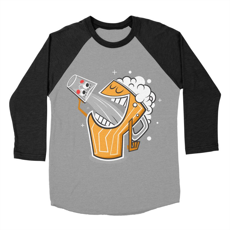 Drinking Buddies Men's Baseball Triblend T-Shirt by henrynsmith's Artist Shop