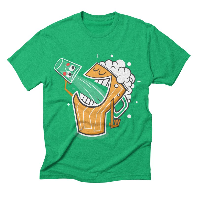 Drinking Buddies Men's Triblend T-shirt by henrynsmith's Artist Shop