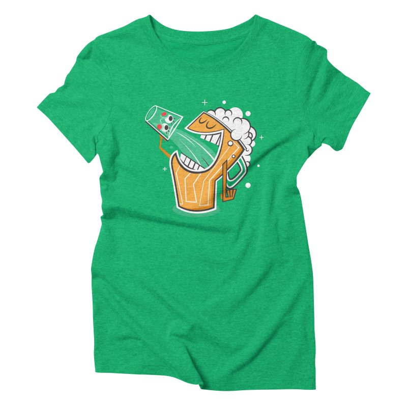 Drinking Buddies Women's Triblend T-Shirt by henrynsmith's Artist Shop