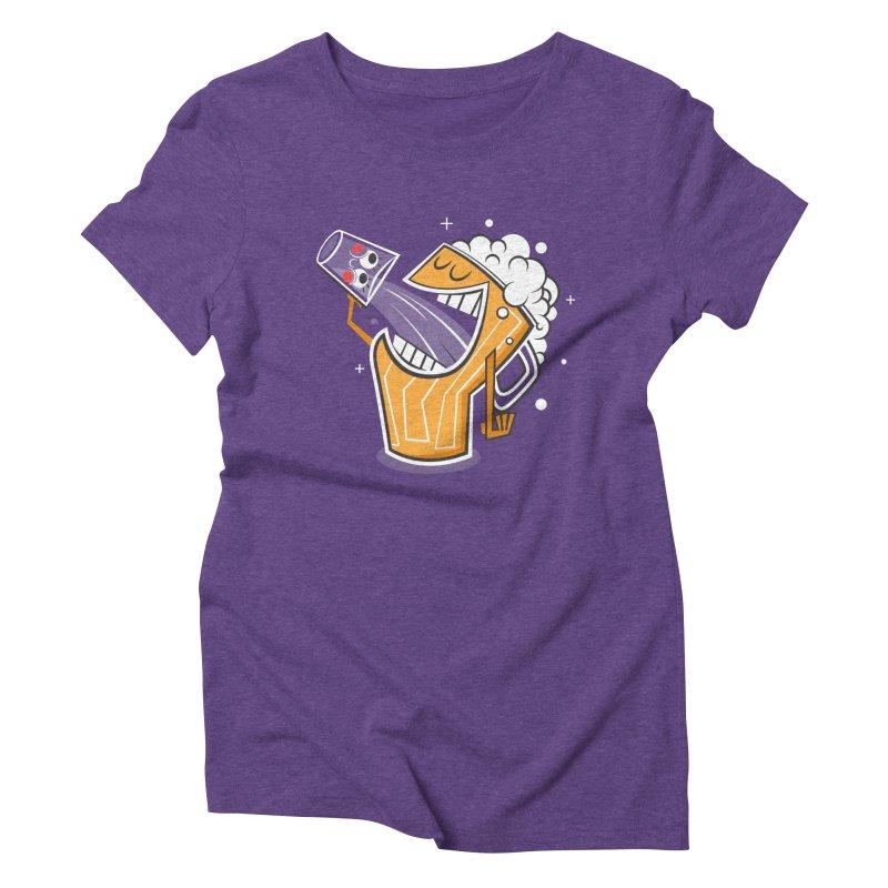 Drinking Buddies Women's Triblend T-Shirt by henrynsmith's Artist Shop
