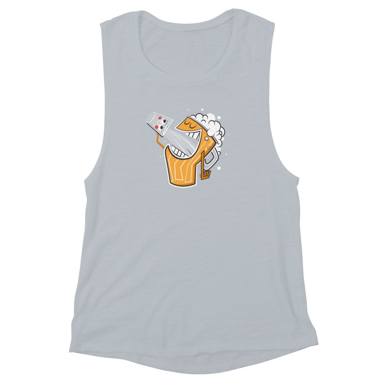 Drinking Buddies Women's Muscle Tank by henrynsmith's Artist Shop