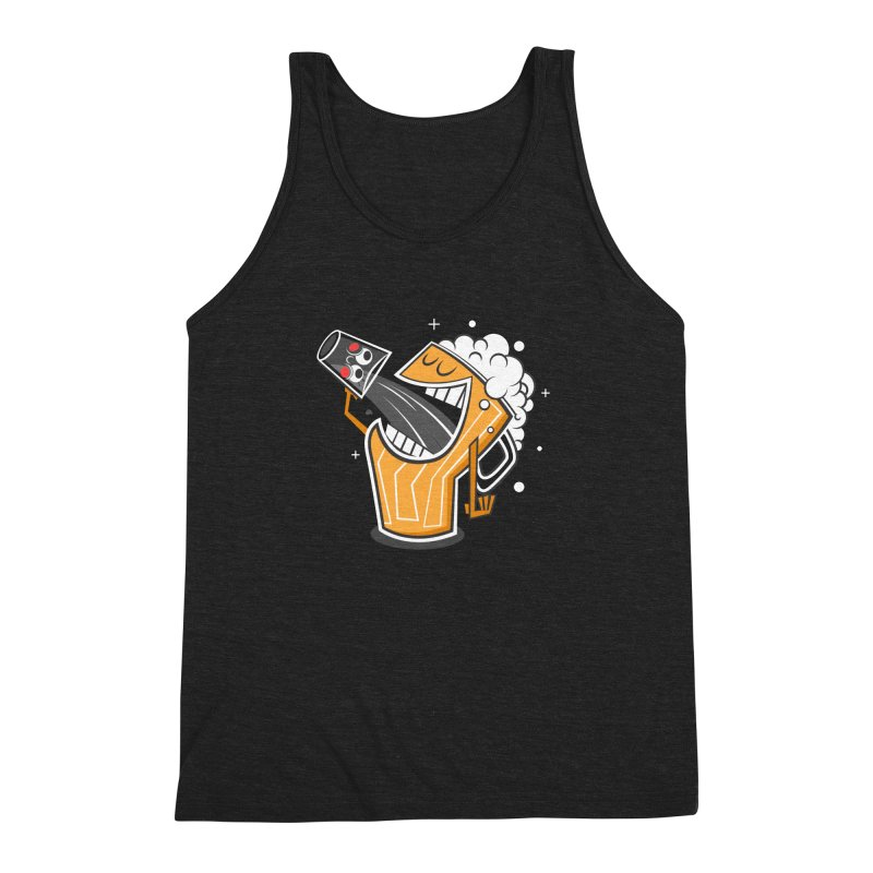 Drinking Buddies Men's Triblend Tank by henrynsmith's Artist Shop