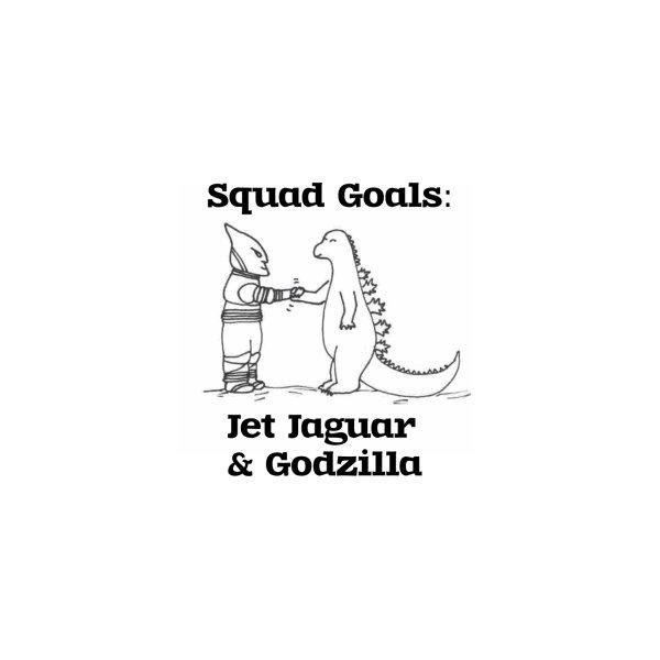 image for Squad Goals: Jet Jaguar and Godzilla