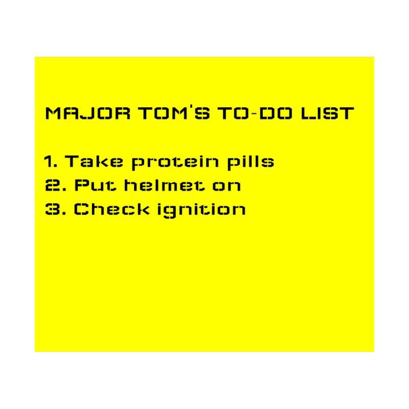 Major Tom's To-do List (updated) Kids Baby Zip-Up Hoody by henryx4's Artist Shop