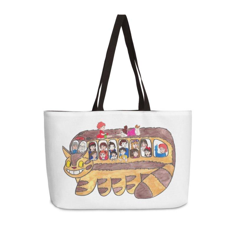 Ghibli no ensoku Accessories Bag by henryx4's Artist Shop