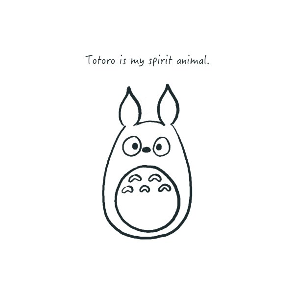 image for Totoro is my spirit animal.