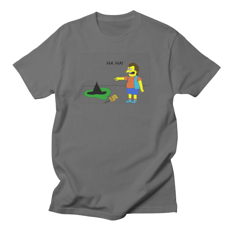 Nelson meets the Wicked Witch of the West Men's T-Shirt by henryx4's Artist Shop
