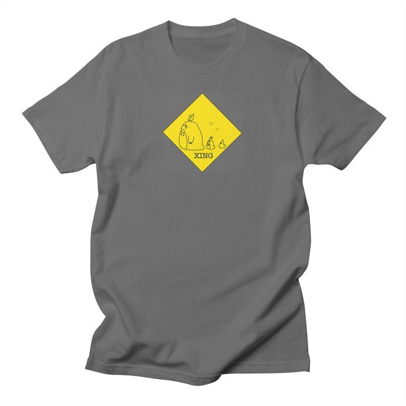Totoro Crossing Men's T-Shirt by henryx4's Artist Shop