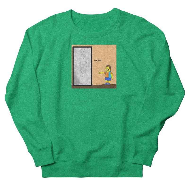 Nelson meets Han Solo Women's Sweatshirt by henryx4's Artist Shop