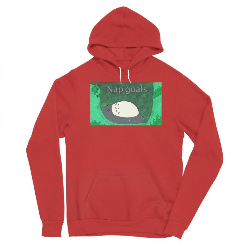 Nap Goals Women's Pullover Hoody by henryx4's Artist Shop