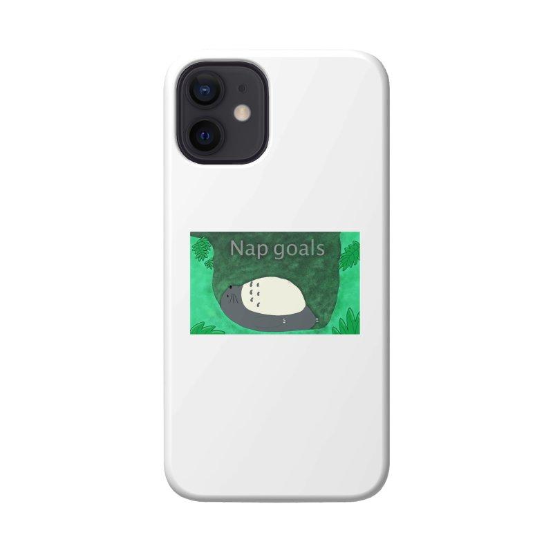 Nap Goals Accessories Phone Case by henryx4's Artist Shop