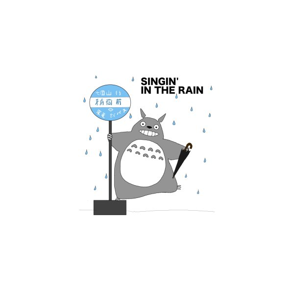 image for Singin' in the Rain, Totoro-style