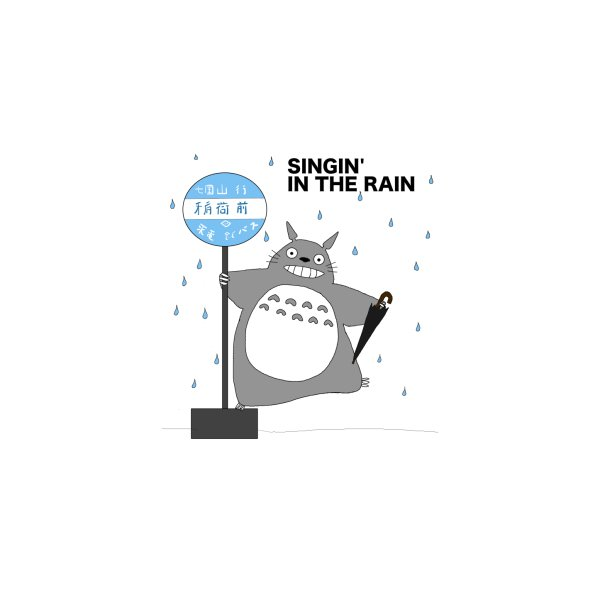 image for Totoro Singin' in the Rain (updated)