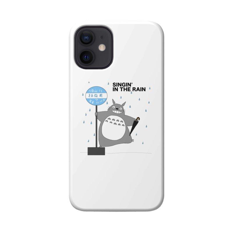Totoro Singin' in the Rain (updated) Accessories Phone Case by henryx4's Artist Shop