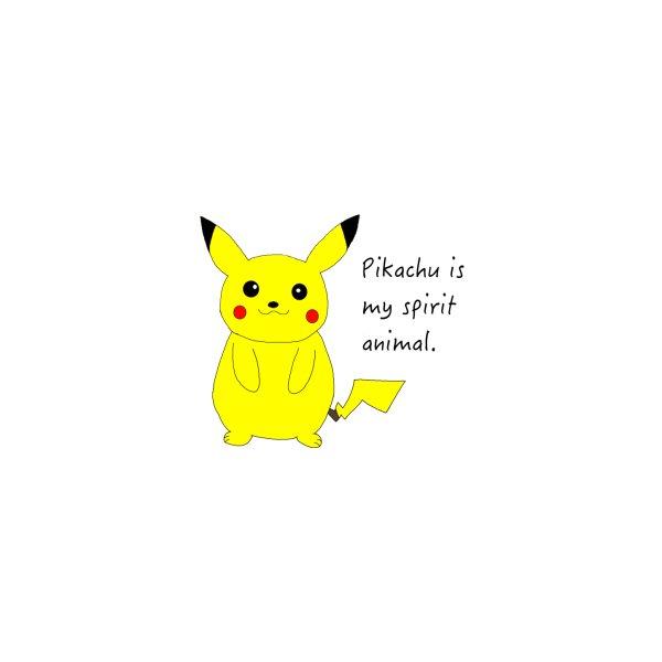 image for Pikachu is my spirit animal.