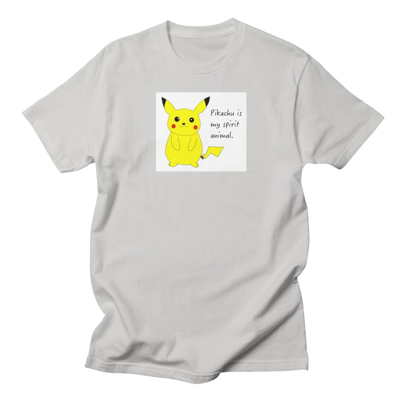 Pikachu is my spirit animal. Women's T-Shirt by henryx4's Artist Shop