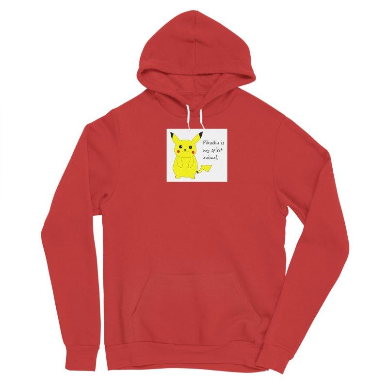 Pikachu is my spirit animal. Men's Pullover Hoody by henryx4's Artist Shop