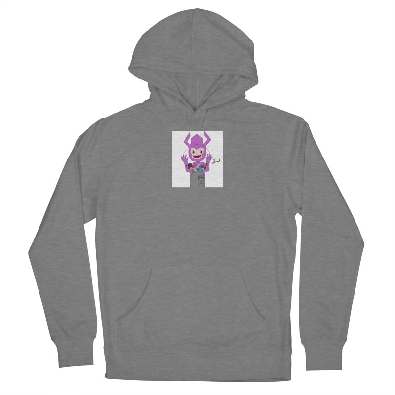 Galactus finds a gumball machine! Women's Pullover Hoody by henryx4's Artist Shop
