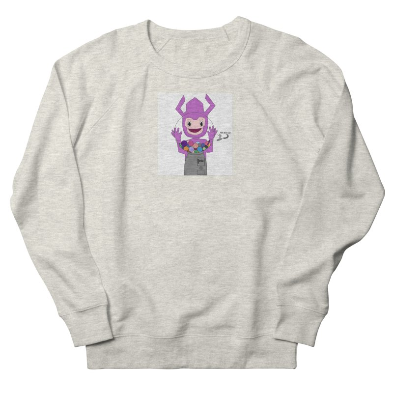 Galactus finds a gumball machine! Men's Sweatshirt by henryx4's Artist Shop