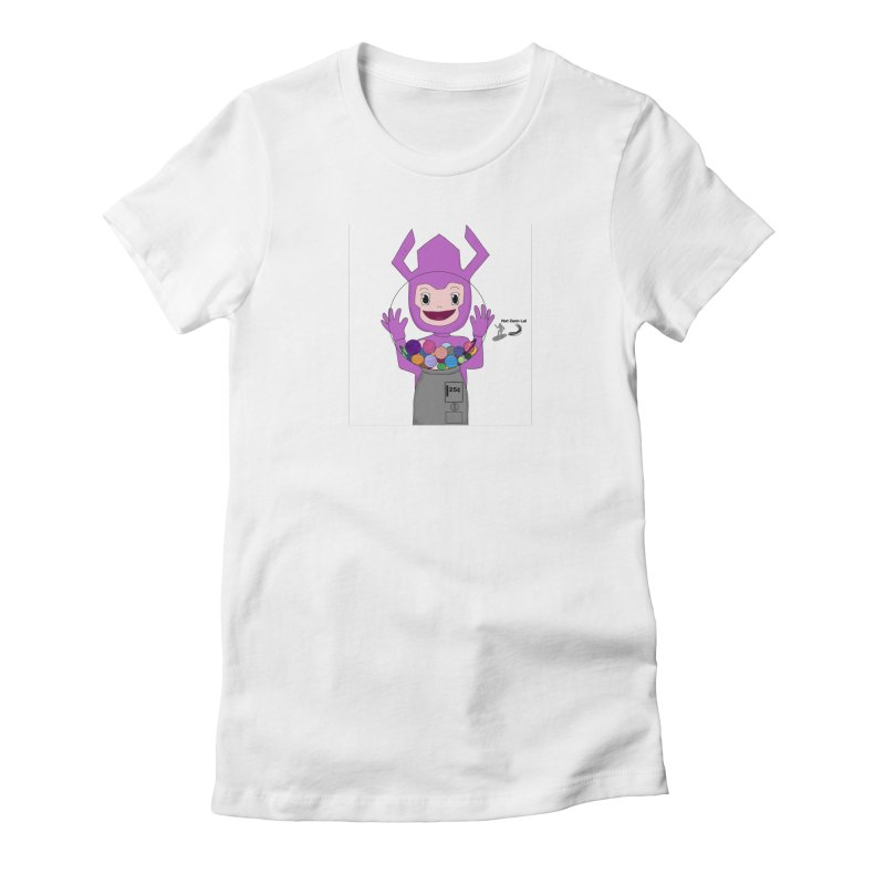 Galactus finds a gumball machine! Women's T-Shirt by henryx4's Artist Shop