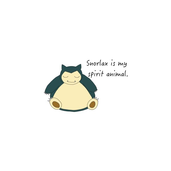 image for Snorlax is my Spirit Animal