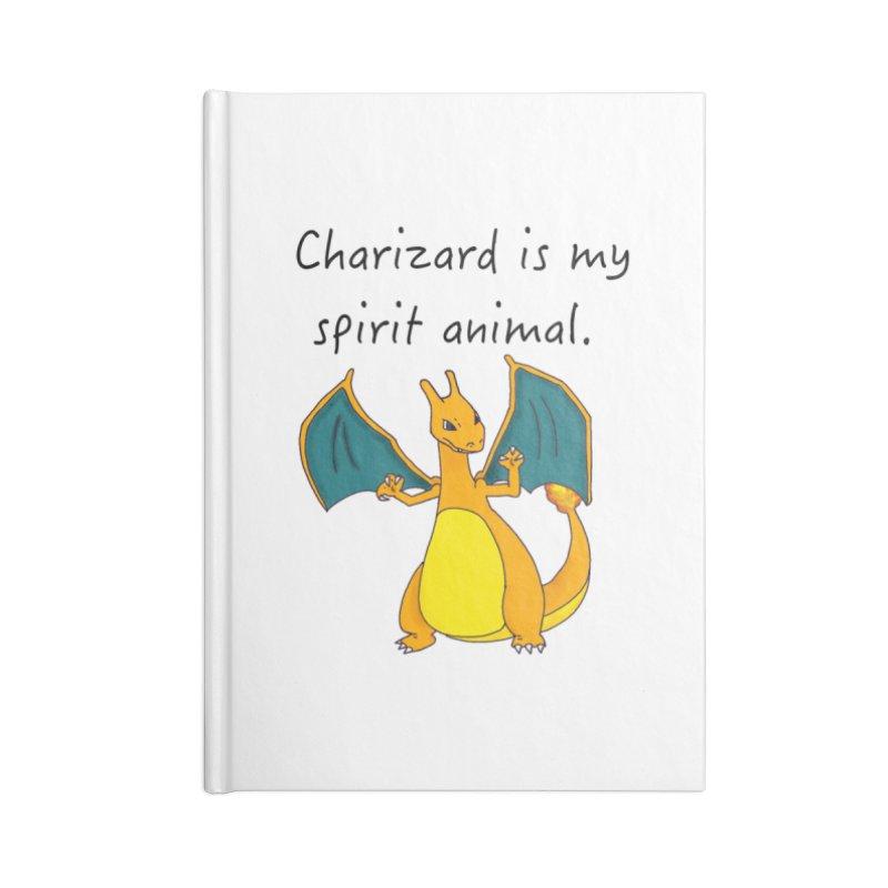Charizard is my spirit animal Accessories Notebook by henryx4's Artist Shop
